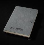 搭扣记事本平装笔记本 PU革 32K(207mm*142mm)
