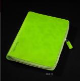 记事本活页拉链包 笔记本定制现货 定制logo