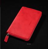 记事本笔记本拉链钱包 可定制logo