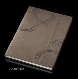 记事本平装笔记本双面变色PU革  32K定制logo