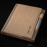 记事本活页本-线圈笔记本变色PU革  32K(207mm*142mm)