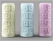 花妖 盒装菱形毛巾 72*32CM