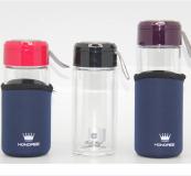 玻璃杯-双层玻璃水晶杯450ML-商务礼品