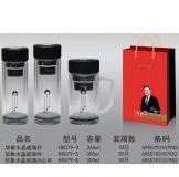 玻璃杯-双层水晶玻璃杯-礼品定制公司