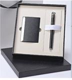 商务套装(笔+名片夹名片盒)