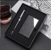 笔+名片夹名片盒(商务套装)