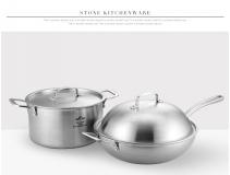 司顿 中式不锈钢锅具2件套 STH054