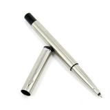 派克签字笔专柜正品威雅钢杆白夹宝珠笔