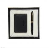 公爵(DUKE)  礼品套装 名片包 名片夹+钢笔套装