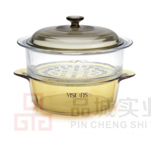 美国康宁VISIONS  3.25L锅+24CM蒸格  VS-32/VSM-24