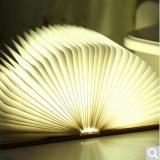 创意便携书灯-大本白枫木