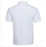 T恤衫195gCVC净色领成人短袖POLO