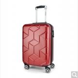 外交官拉杆箱 DS-1292 酒红色