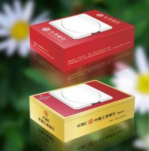 盒装广告礼品湿巾(70抽) H-60-70