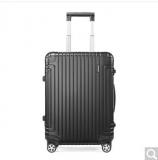 新秀丽经典铝箱登机行李箱  DB3*09001 黑色 20寸