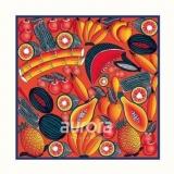 奥罗拉丝巾方巾53*53cm B3系列-礼品定制