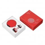 沃品(WOPOW)TZ09蓝牙音箱耳机组合套装无线运动防水耳机红色 蓝牙音响