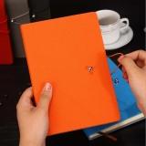 搭扣记事本平装笔记本,绑带贴心设计 支持logo印制